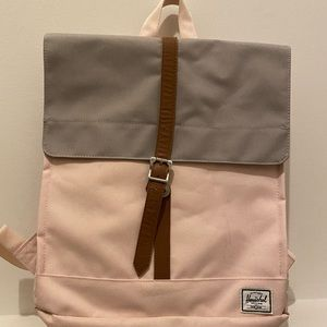 Herschel backpack  pink&grey multiple colour